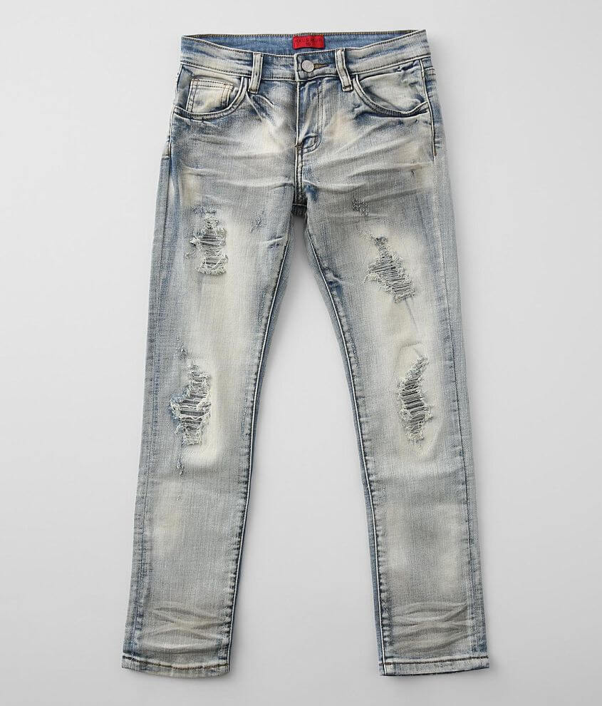 Boys - Haus of JR James Taper Stretch Jean front view
