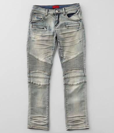 Boys - Haus of JR Declan Moto Taper Stretch Jean