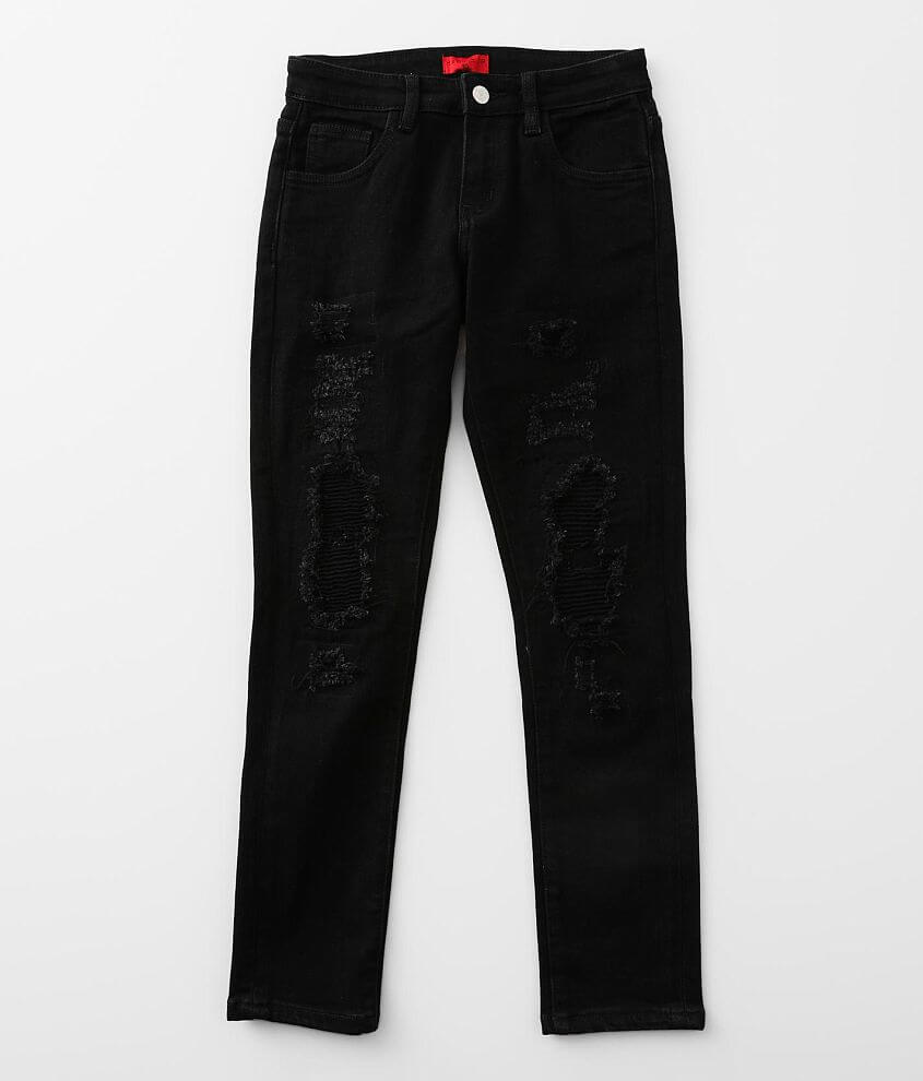Boys - Haus of JR Isaac Taper Stretch Jean front view