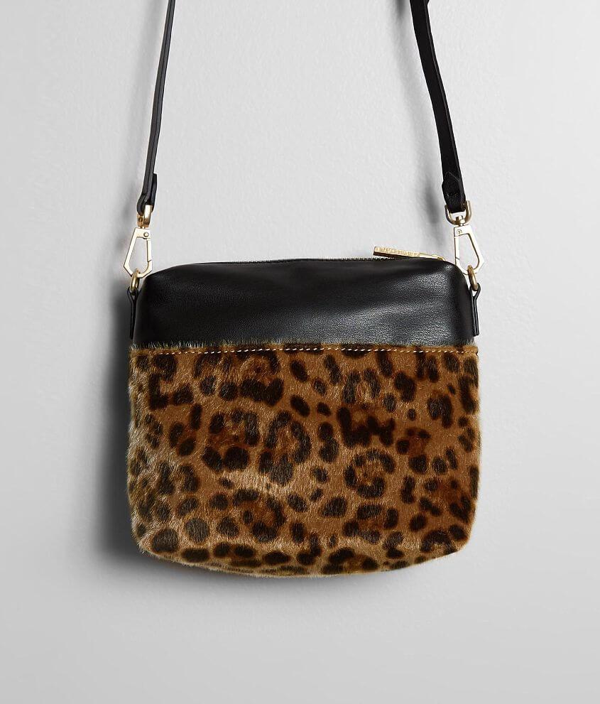 KENDALL + KYLIE Callie Leopard Crossbody Purse