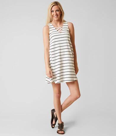 Hem & Thread Striped Dress
