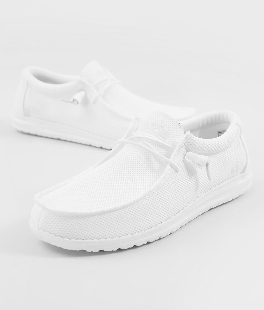 Hey Dude Wally B Sox Shoe - Men s Shoes in White  dbacd4dec04d