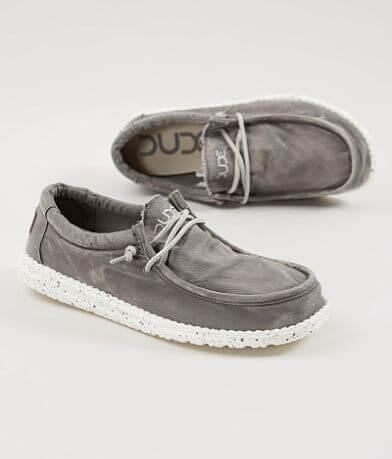 Hey Dude Wally Washed Shoe