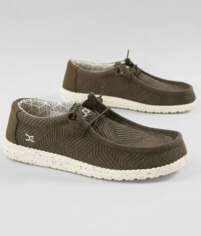 Hey Dude Wally B Lines Shoe