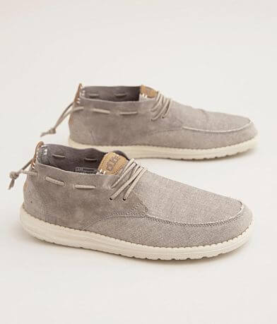 Hey Dude Alfie Pieced Suede Shoe