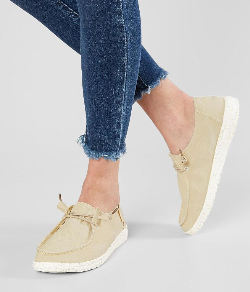Hey Dude Wendy Shoe Women S Shoes In Wendy Beige Buckle