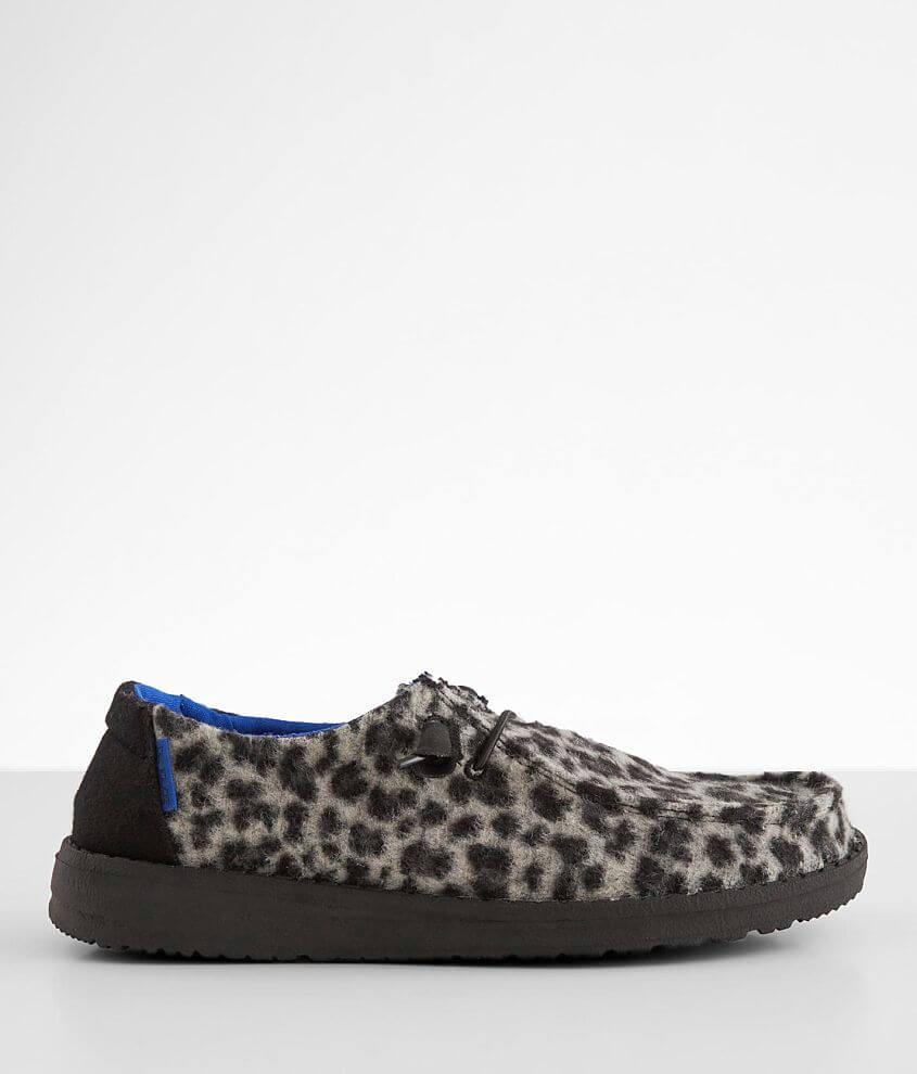 Hey Dude Wendy Wild Cheetah Shoe front view