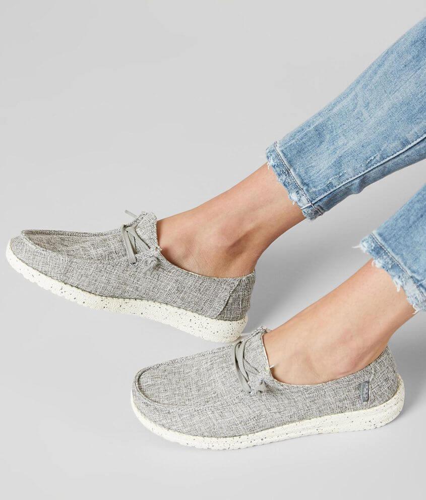 Hey Dude Wendy Shoe - Women s Shoes in Iron  8fe8260a21