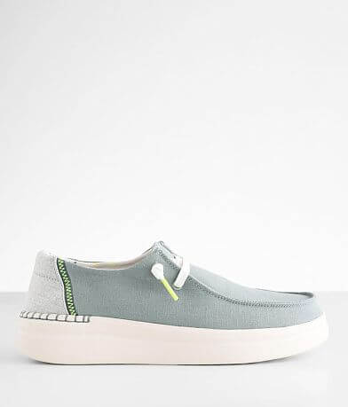 Hey Dude Wendy Rise Chambray Shoe