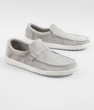 Hey Dude Mikka Leather Shoe 4b624c002