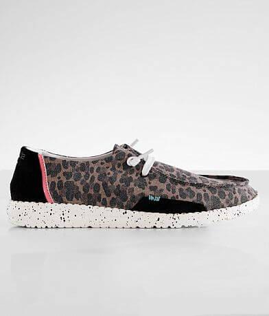 Hey Dude Wendy Cheetah Shoe