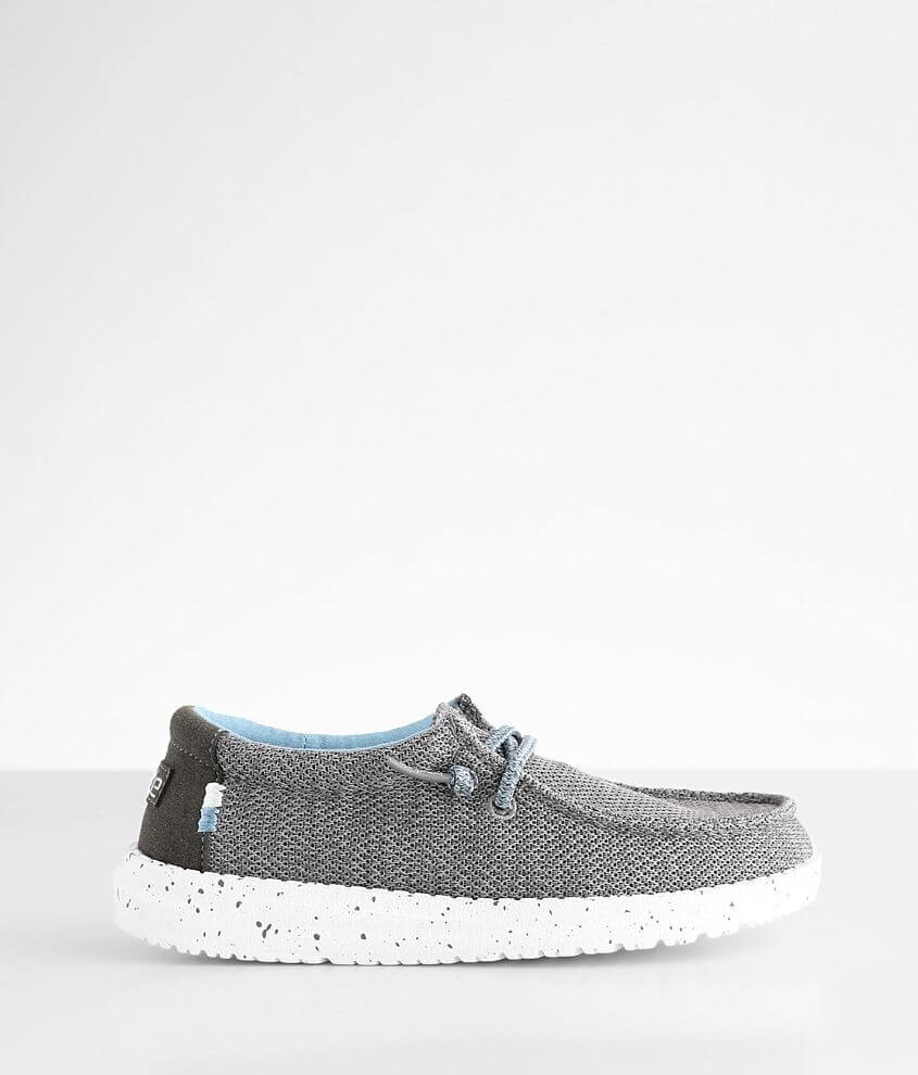 Toddler/Youth - Hey Dude Wally Sox Shoe front view