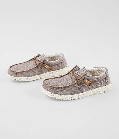Boys- Hey Dude Wally Woven Shoe