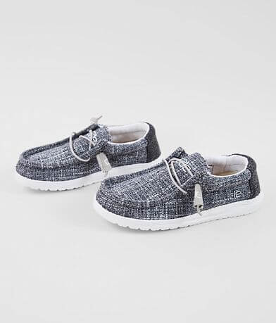 Boys - Hey Dude Wally Tweed Shoe