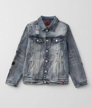 Boys - Haus of JR Hunter Denim Stretch Jacket