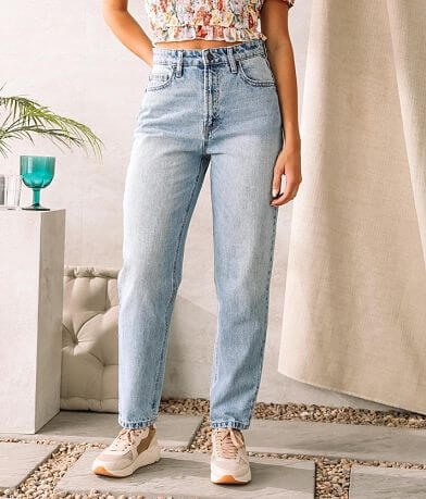 HIDDEN Zoey Mom Tapered Fit Jean