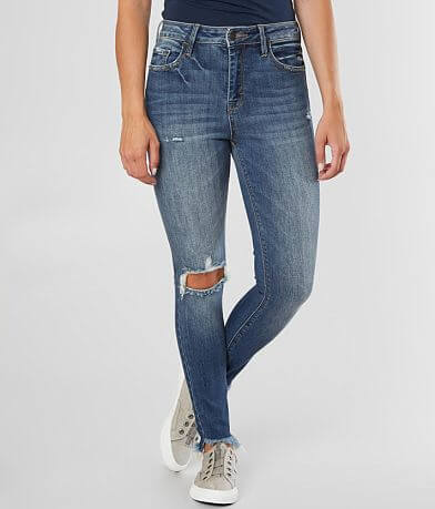 HIDDEN Taylor High Rise Ankle Skinny Stretch Jean