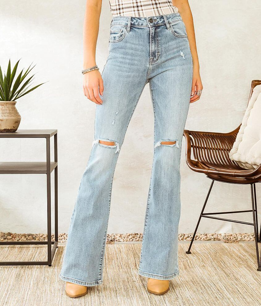 HIDDEN Happi Flare Stretch Jean front view