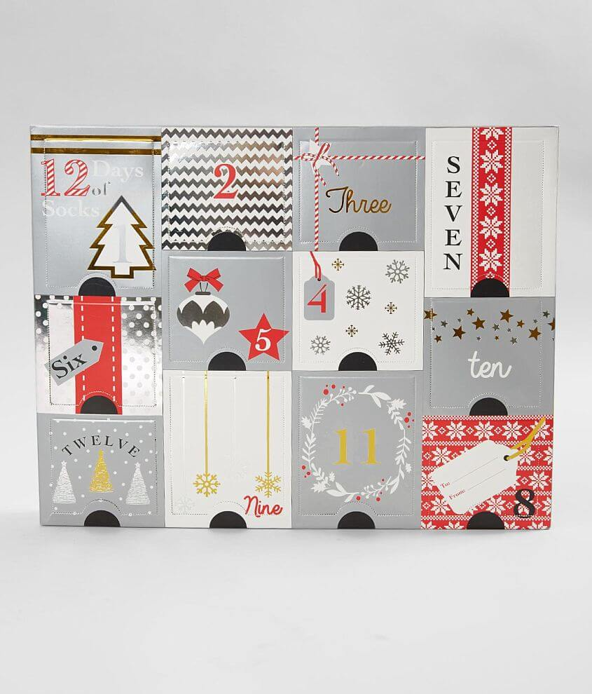 12 Days Of Holiday Socks Box Set