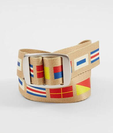 Croakies® Nautical Flags Belt