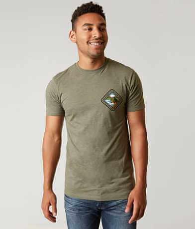 Hippy Tree Land Mass T-Shirt