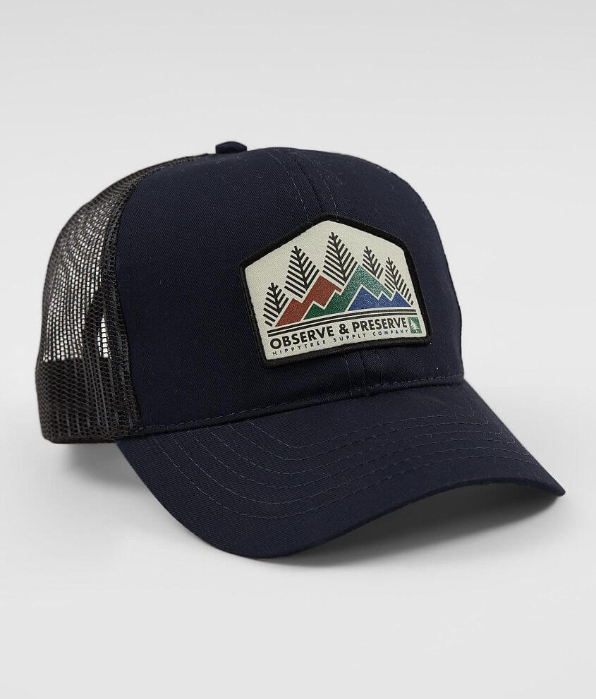 53a7cdd4ccf HippyTree Heritage Trucker Hat - Men s Hats in Navy