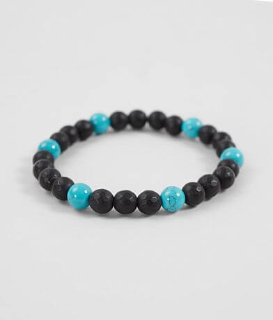 BKE Turquoise Lava Bracelet