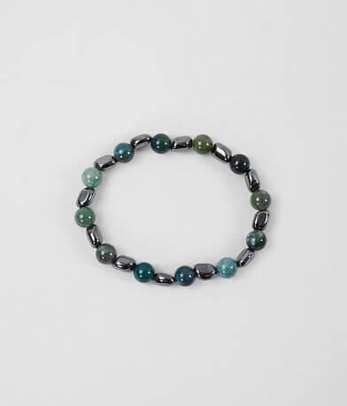 BKE Jade & Hematite Bracelet