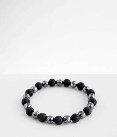 BKE Black Faceted Bracelet