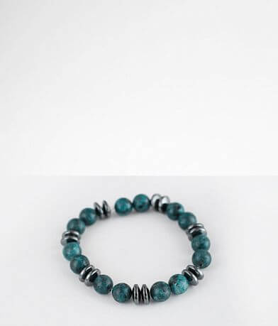 BKE Beaded Disc Bracelet