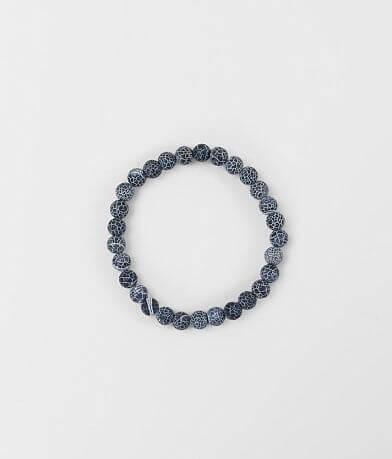 BKE Navy Frosted Bracelet