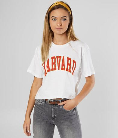 Harvard® University Cropped T-Shirt