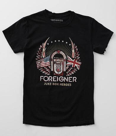 Goodie Two Sleeves Foreigner Band T-Shirt