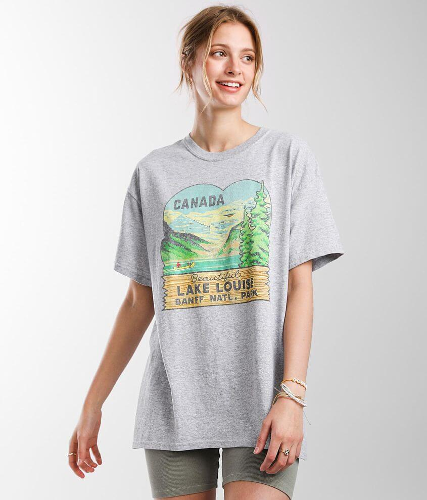 Hilda 74 Canada Lake Louise National Park T-Shirt front view