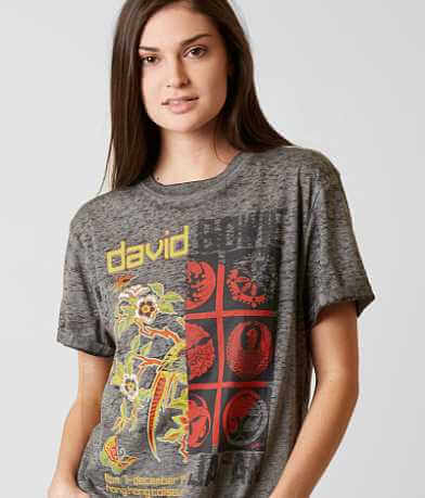 Goodie Two Sleeves David Bowie Band T-Shirt