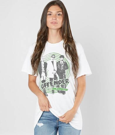 Dirty Cotton Scoundrels Blondie Band T-Shirt