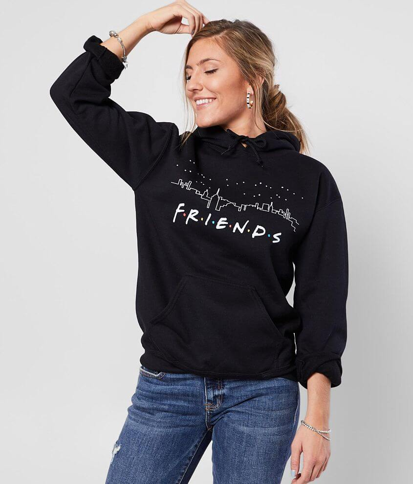 Friends Hooded Sweatshirt front view