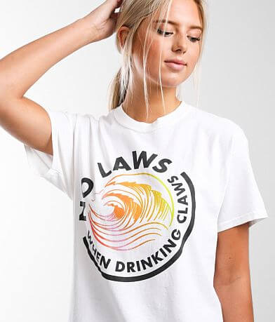 Goodie Two Sleeves No Laws T-Shirt