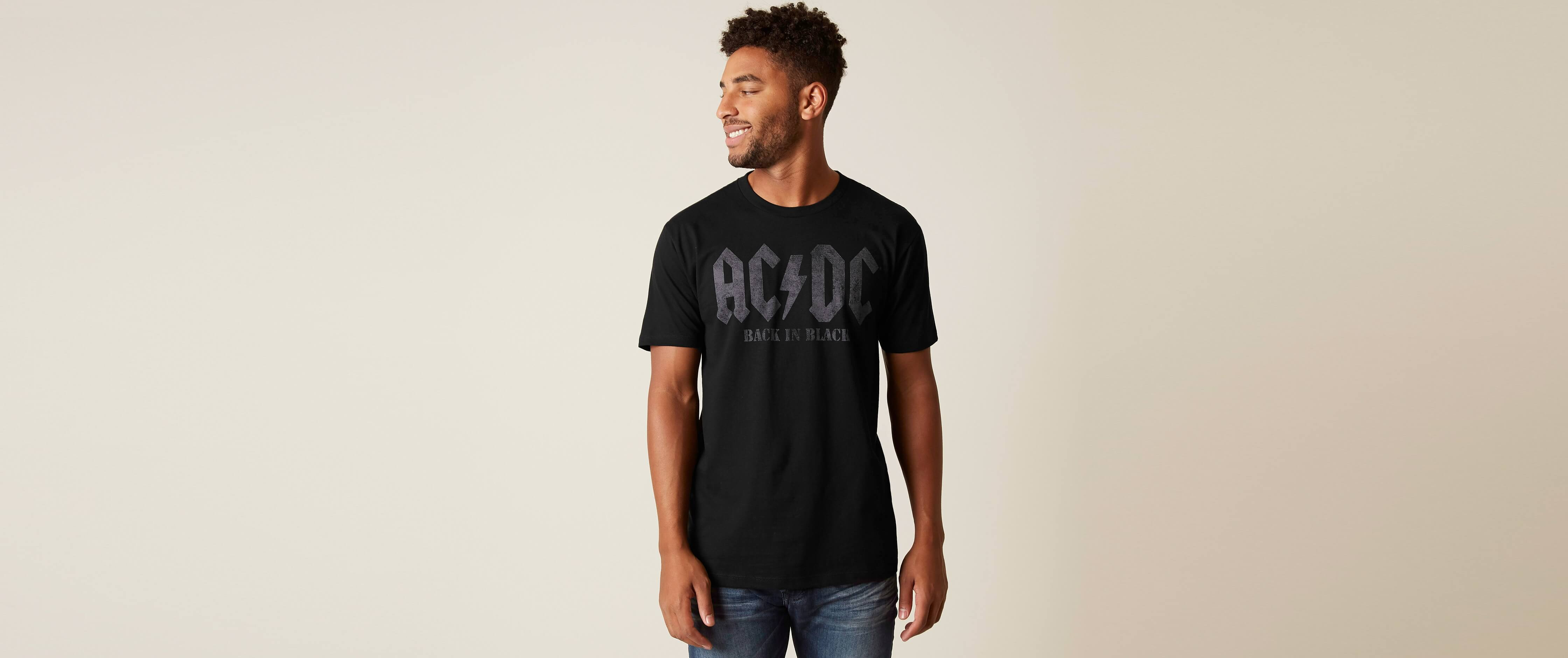 Goodie Two Sleeves AC/DC Band T-Shirt supplier
