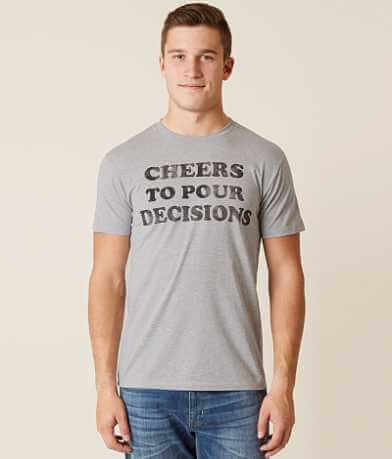 Goodie Two Sleeves Pour Decisions T-Shirt