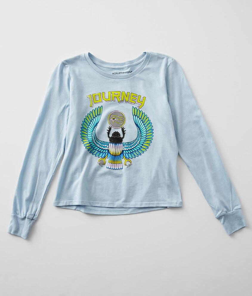 Girls - Goodie Two Sleeves Journey T-Shirt front view