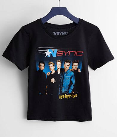 Girls - Goodie Two Sleeves NSYNC Band T-Shirt