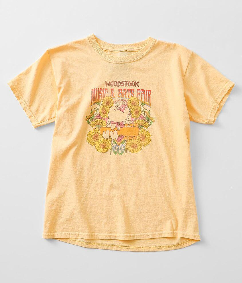 Girls - Dirty Cotton Scoundrels Woodstock T-Shirt front view