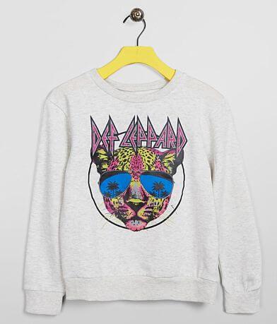 Girls - Goodie Two Sleeves Def Leppard Sweatshirt