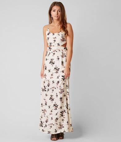 Honey Punch Floral Maxi Dress