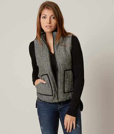 Honey Belle Herringbone Vest