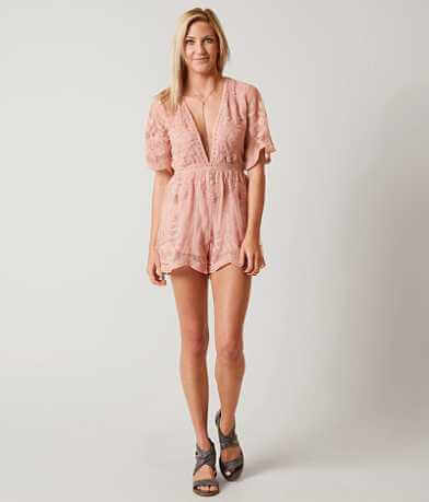 Honey Punch Lace Romper