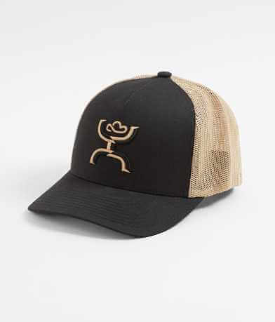 Hooey Coach Trucker Flexfit Stretch Hat