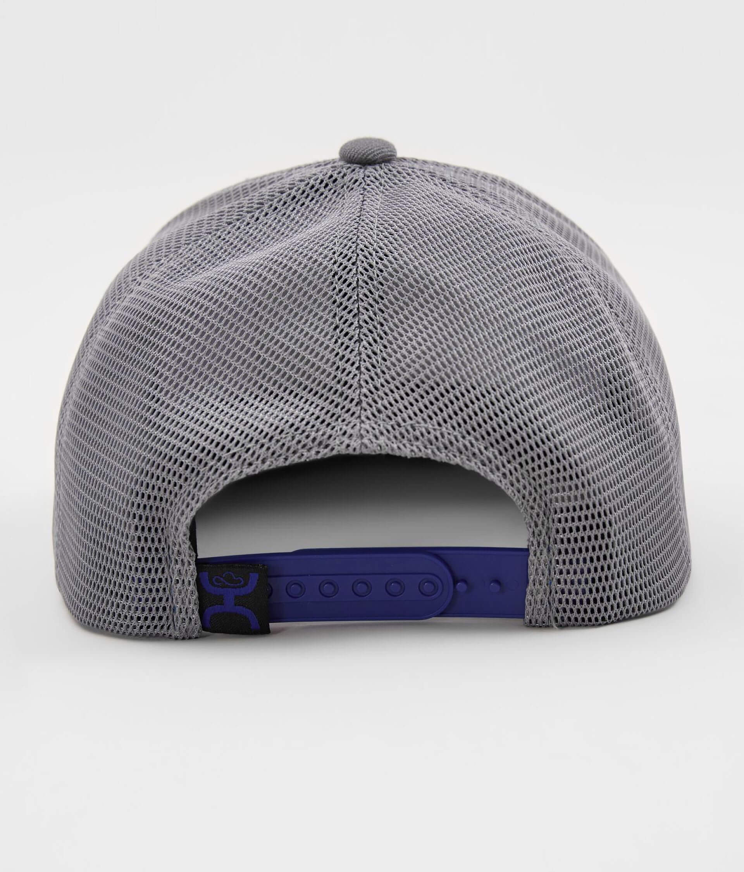 94a9b6217d51bf Hooey Original Trucker Hat - Men's Hats in Blue Grey | Buckle