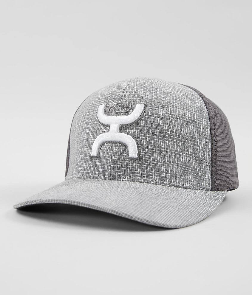closer at skate shoes new lifestyle Hooey Web Stretch Hat - Men's Hats in Light Grey Dark Grey | Buckle